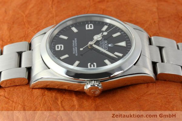 Used luxury watch Rolex Explorer steel automatic Kal. 3000 Ref. 14270  | 141779 05