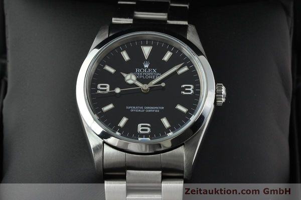 Used luxury watch Rolex Explorer steel automatic Kal. 3000 Ref. 14270  | 141779 07