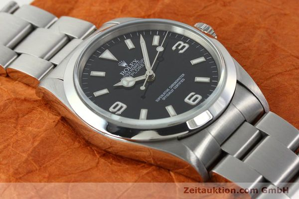 Used luxury watch Rolex Explorer steel automatic Kal. 3000 Ref. 14270  | 141779 14