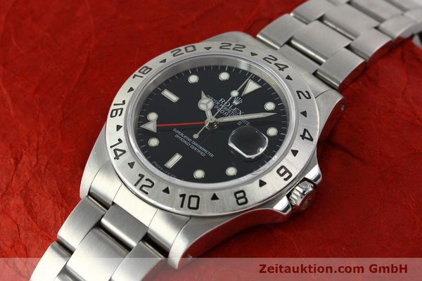 Used luxury watch Rolex Explorer II steel automatic Kal. 3185 Ref. 16570  | 141780 01