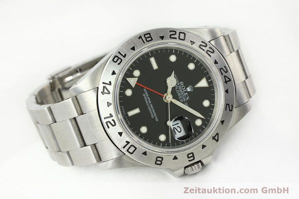 Used luxury watch Rolex Explorer II steel automatic Kal. 3185 Ref. 16570  | 141780 03