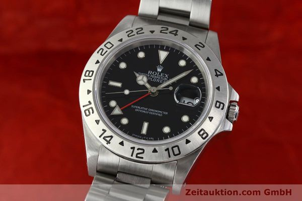 Used luxury watch Rolex Explorer II steel automatic Kal. 3185 Ref. 16570  | 141780 04