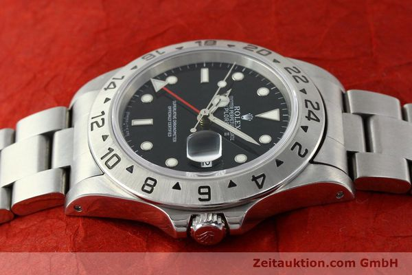 Used luxury watch Rolex Explorer II steel automatic Kal. 3185 Ref. 16570  | 141780 05