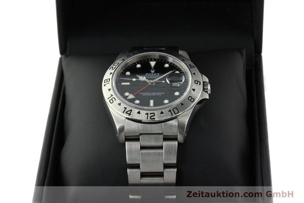 Used luxury watch Rolex Explorer II steel automatic Kal. 3185 Ref. 16570  | 141780 07