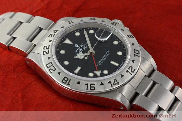 Used luxury watch Rolex Explorer II steel automatic Kal. 3185 Ref. 16570  | 141780 15