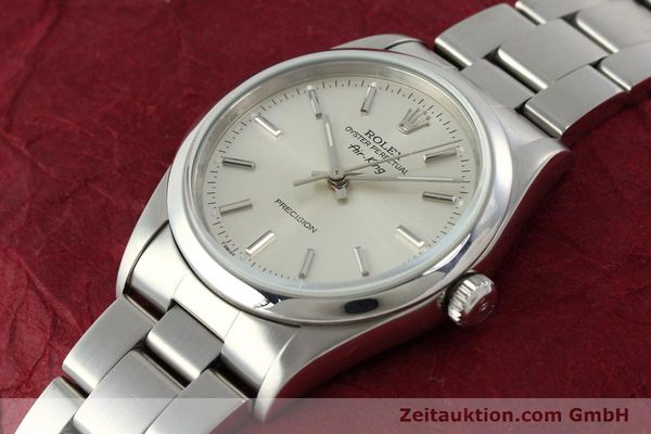 Used luxury watch Rolex Air King steel automatic Kal. 3000 Ref. 14000  | 141781 01