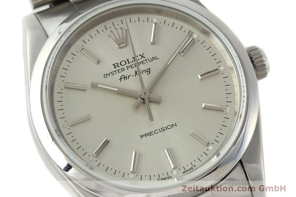 Used luxury watch Rolex Air King steel automatic Kal. 3000 Ref. 14000  | 141781 02