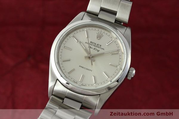 Used luxury watch Rolex Air King steel automatic Kal. 3000 Ref. 14000  | 141781 04