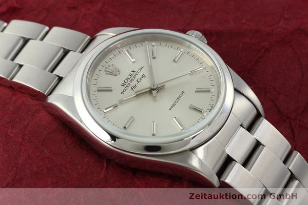 Used luxury watch Rolex Air King steel automatic Kal. 3000 Ref. 14000  | 141781 15