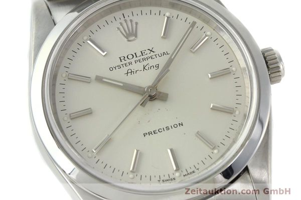 Used luxury watch Rolex Air King steel automatic Kal. 3000 Ref. 14000  | 141782 02