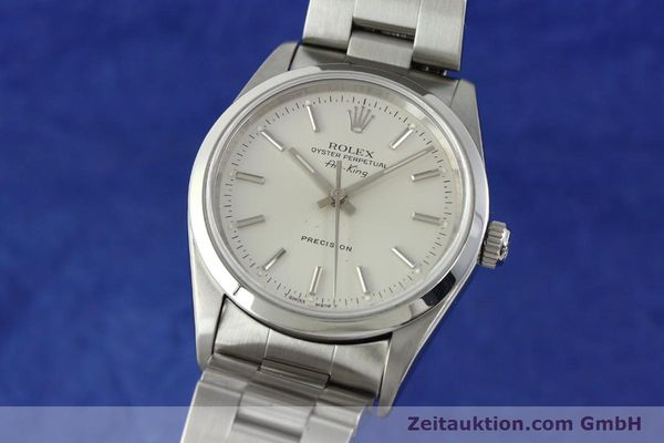 Used luxury watch Rolex Air King steel automatic Kal. 3000 Ref. 14000  | 141782 04