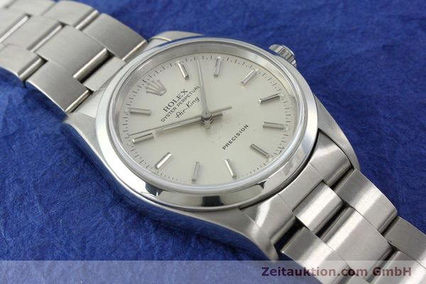 Used luxury watch Rolex Air King steel automatic Kal. 3000 Ref. 14000  | 141782 15