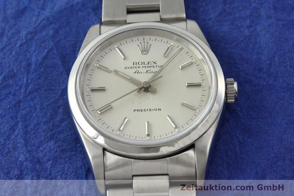 Used luxury watch Rolex Air King steel automatic Kal. 3000 Ref. 14000  | 141782 16