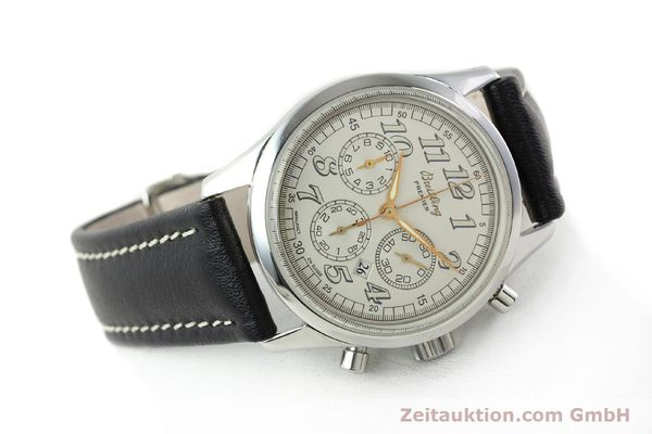 Used luxury watch Breitling Premier steel automatic Kal. B42 ETA 2892A2 Ref. A42035  | 141785 03