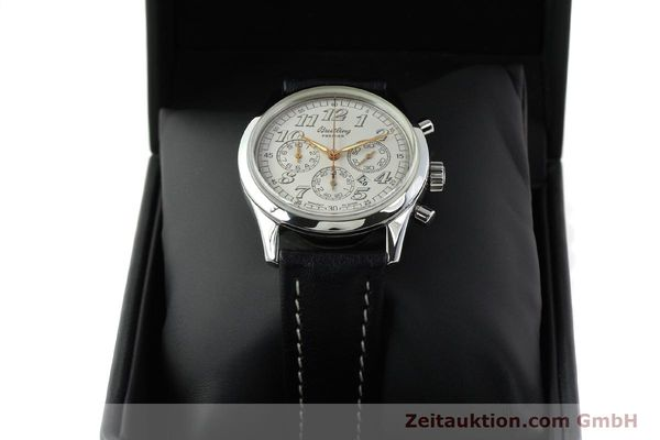 Used luxury watch Breitling Premier steel automatic Kal. B42 ETA 2892A2 Ref. A42035  | 141785 07