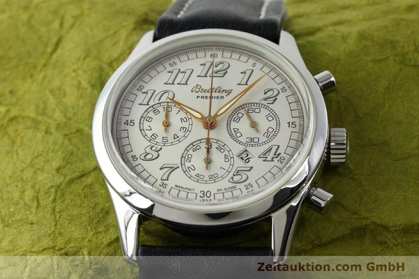 Used luxury watch Breitling Premier steel automatic Kal. B42 ETA 2892A2 Ref. A42035  | 141785 15