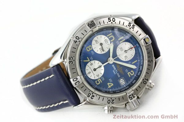 Used luxury watch Breitling Colt chronograph steel automatic Kal. B13 ETA 7750 Ref. A13035.1  | 141786 03