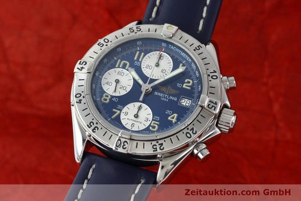 Used luxury watch Breitling Colt chronograph steel automatic Kal. B13 ETA 7750 Ref. A13035.1  | 141786 04