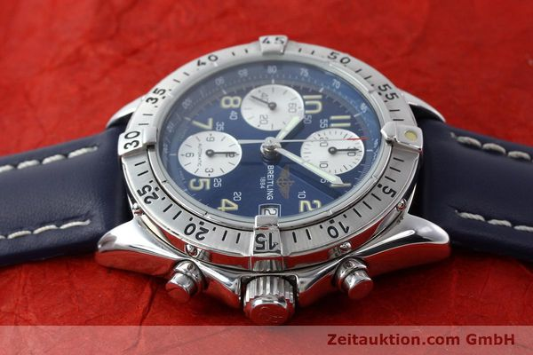 Used luxury watch Breitling Colt chronograph steel automatic Kal. B13 ETA 7750 Ref. A13035.1  | 141786 05