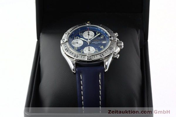 Used luxury watch Breitling Colt chronograph steel automatic Kal. B13 ETA 7750 Ref. A13035.1  | 141786 07