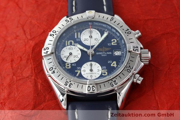 Used luxury watch Breitling Colt chronograph steel automatic Kal. B13 ETA 7750 Ref. A13035.1  | 141786 15