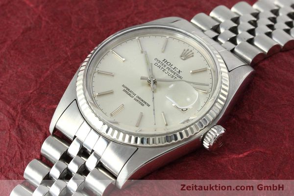 Used luxury watch Rolex Datejust steel / gold automatic Kal. 3035 Ref. 16014  | 141787 01