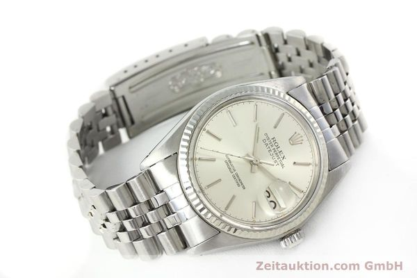 Used luxury watch Rolex Datejust steel / gold automatic Kal. 3035 Ref. 16014  | 141787 03