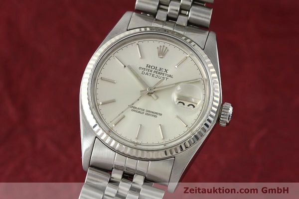 Used luxury watch Rolex Datejust steel / gold automatic Kal. 3035 Ref. 16014  | 141787 04