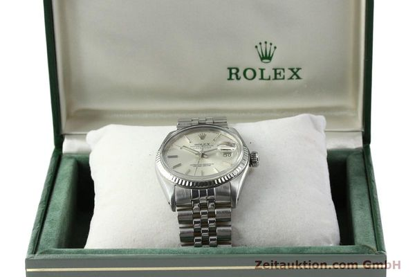 Used luxury watch Rolex Datejust steel / gold automatic Kal. 3035 Ref. 16014  | 141787 07