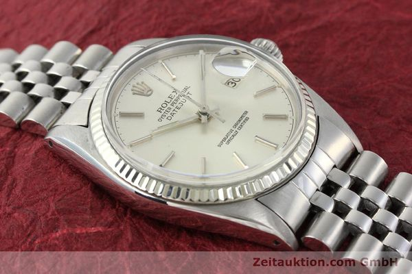 Used luxury watch Rolex Datejust steel / gold automatic Kal. 3035 Ref. 16014  | 141787 14