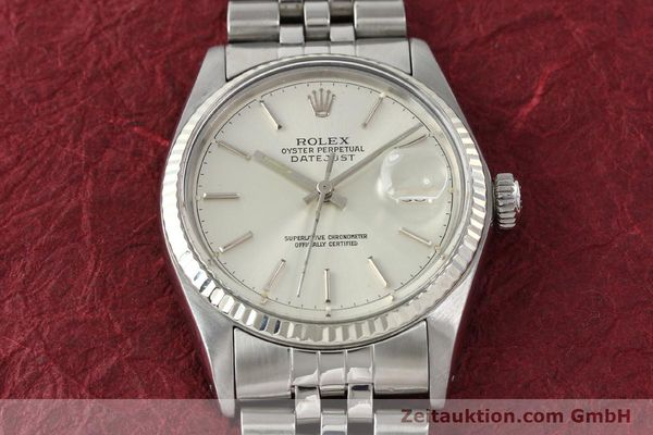 Used luxury watch Rolex Datejust steel / gold automatic Kal. 3035 Ref. 16014  | 141787 15