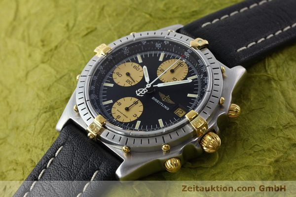 Used luxury watch Breitling Chronomat chronograph steel / gold automatic Kal. VAL 7750 Ref. 81.950  | 141791 01