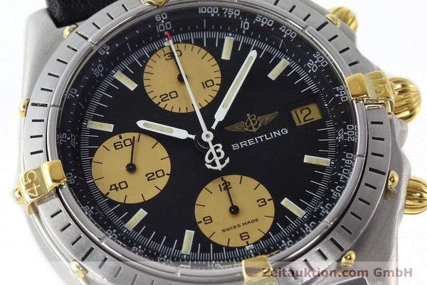 Used luxury watch Breitling Chronomat chronograph steel / gold automatic Kal. VAL 7750 Ref. 81.950  | 141791 02