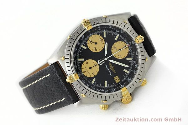 Used luxury watch Breitling Chronomat chronograph steel / gold automatic Kal. VAL 7750 Ref. 81.950  | 141791 03