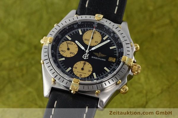 Used luxury watch Breitling Chronomat chronograph steel / gold automatic Kal. VAL 7750 Ref. 81.950  | 141791 04