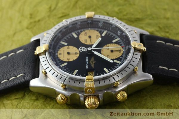 Used luxury watch Breitling Chronomat chronograph steel / gold automatic Kal. VAL 7750 Ref. 81.950  | 141791 05