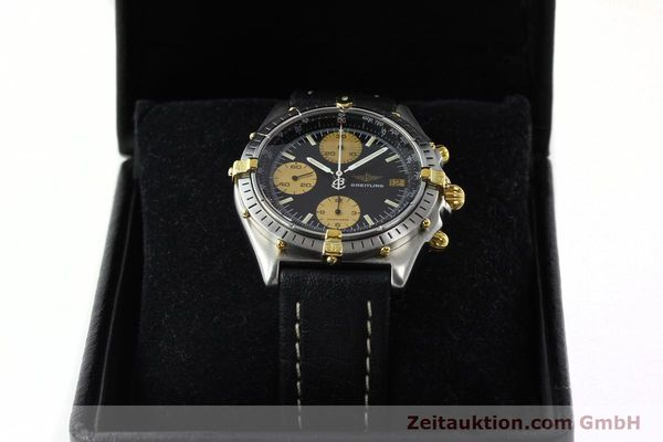 Used luxury watch Breitling Chronomat chronograph steel / gold automatic Kal. VAL 7750 Ref. 81.950  | 141791 07