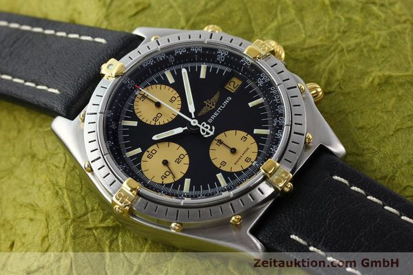 Used luxury watch Breitling Chronomat chronograph steel / gold automatic Kal. VAL 7750 Ref. 81.950  | 141791 13