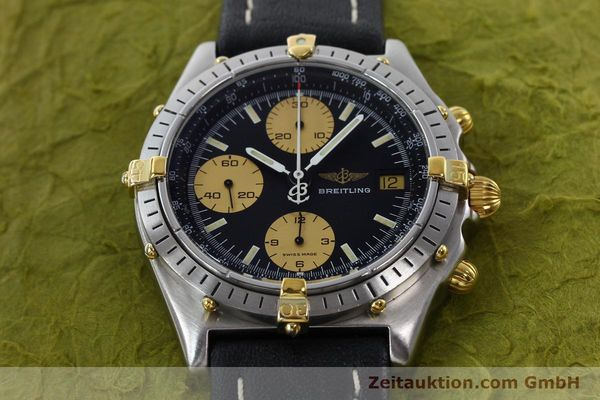 Used luxury watch Breitling Chronomat chronograph steel / gold automatic Kal. VAL 7750 Ref. 81.950  | 141791 14