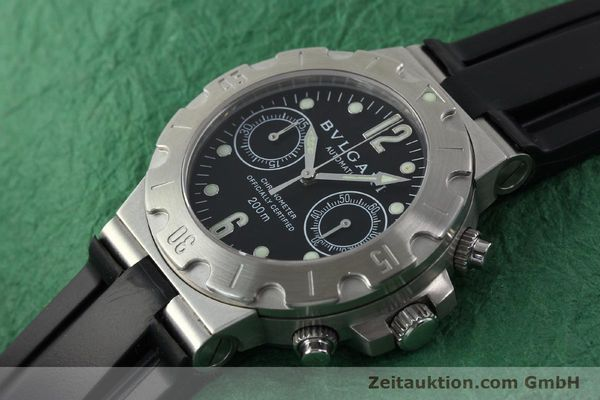 Used luxury watch Bvlgari Scuba steel automatic Kal. 2282-TEEE Ref. SCB38S  | 141793 01