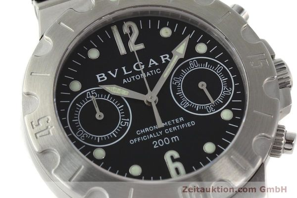 Used luxury watch Bvlgari Scuba steel automatic Kal. 2282-TEEE Ref. SCB38S  | 141793 02