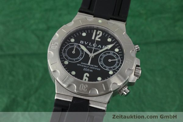 Used luxury watch Bvlgari Scuba steel automatic Kal. 2282-TEEE Ref. SCB38S  | 141793 04