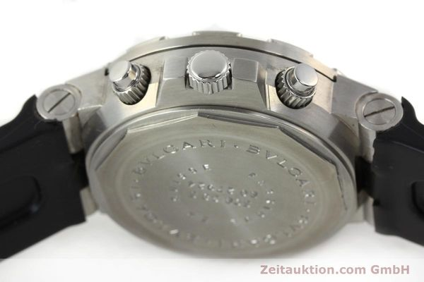 Used luxury watch Bvlgari Scuba steel automatic Kal. 2282-TEEE Ref. SCB38S  | 141793 08