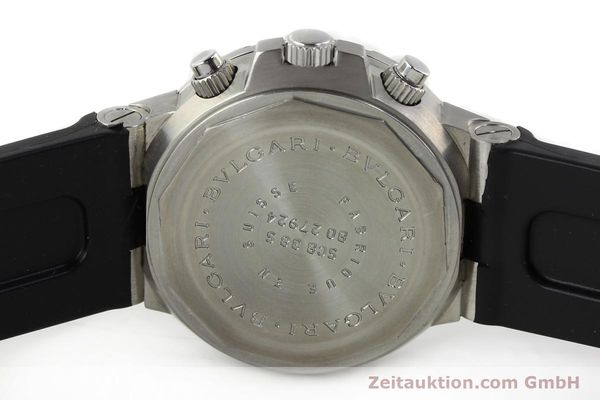 Used luxury watch Bvlgari Scuba steel automatic Kal. 2282-TEEE Ref. SCB38S  | 141793 09