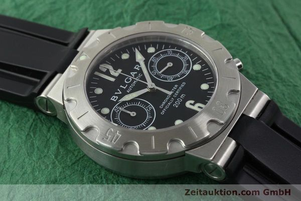 Used luxury watch Bvlgari Scuba steel automatic Kal. 2282-TEEE Ref. SCB38S  | 141793 13