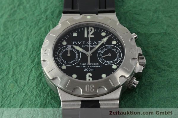 Used luxury watch Bvlgari Scuba steel automatic Kal. 2282-TEEE Ref. SCB38S  | 141793 14