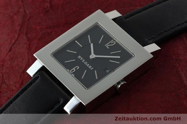 Used luxury watch Bvlgari Quadrato steel quartz Ref. SQ29SLD  | 141794 01