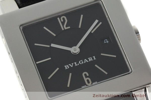 Used luxury watch Bvlgari Quadrato steel quartz Ref. SQ29SLD  | 141794 02