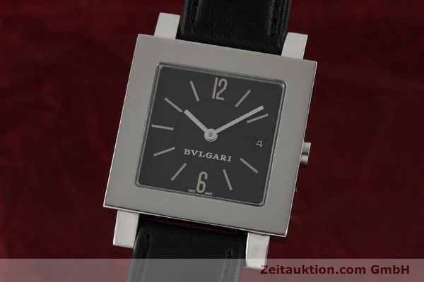 Used luxury watch Bvlgari Quadrato steel quartz Ref. SQ29SLD  | 141794 04