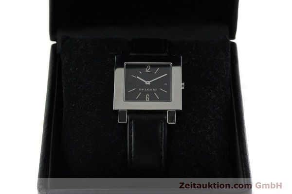 Used luxury watch Bvlgari Quadrato steel quartz Ref. SQ29SLD  | 141794 07